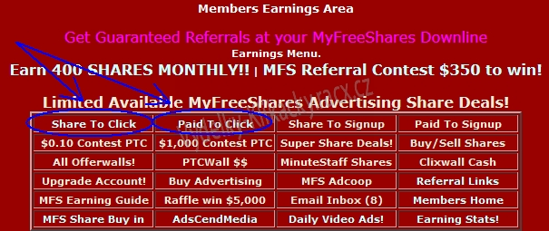 myfreeshares click ads